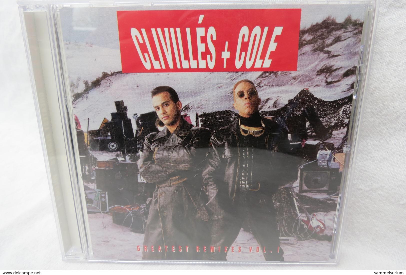 "CD ""Clivillés + Cole"" Greatest Remixes Vol. 1 - Musik & Instrumente"