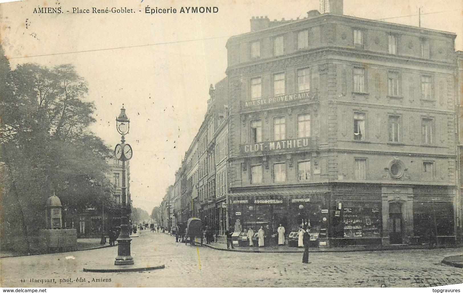 80 AMIENS PLACE RENE GOBLET EPICERIE AYMOND - Amiens