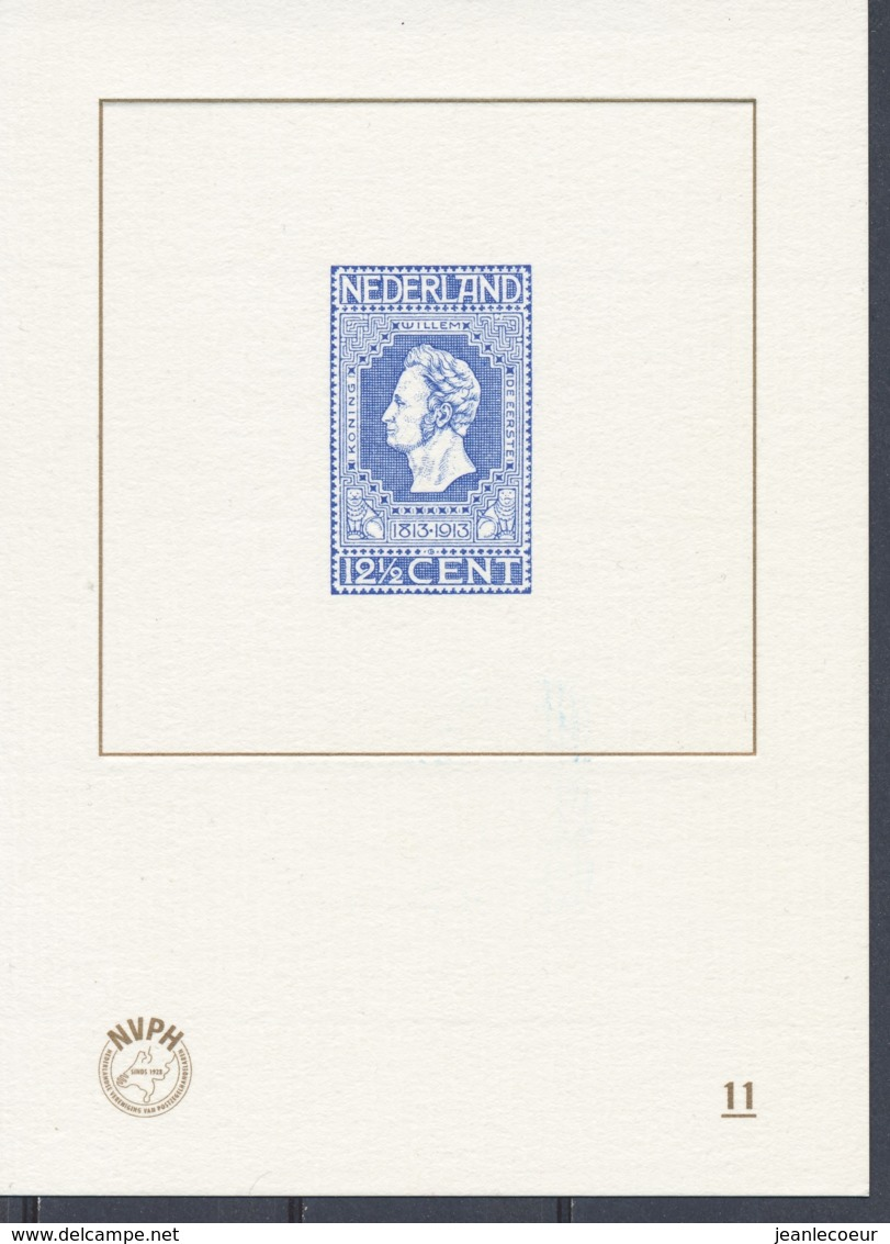 Nederland/Netherlands/Pays Bas/Niederlande 2013 Blauwdruk Nvph: BD 11 (PF/MNH/Neuf Sans Ch/**)(3871) - Unused Stamps
