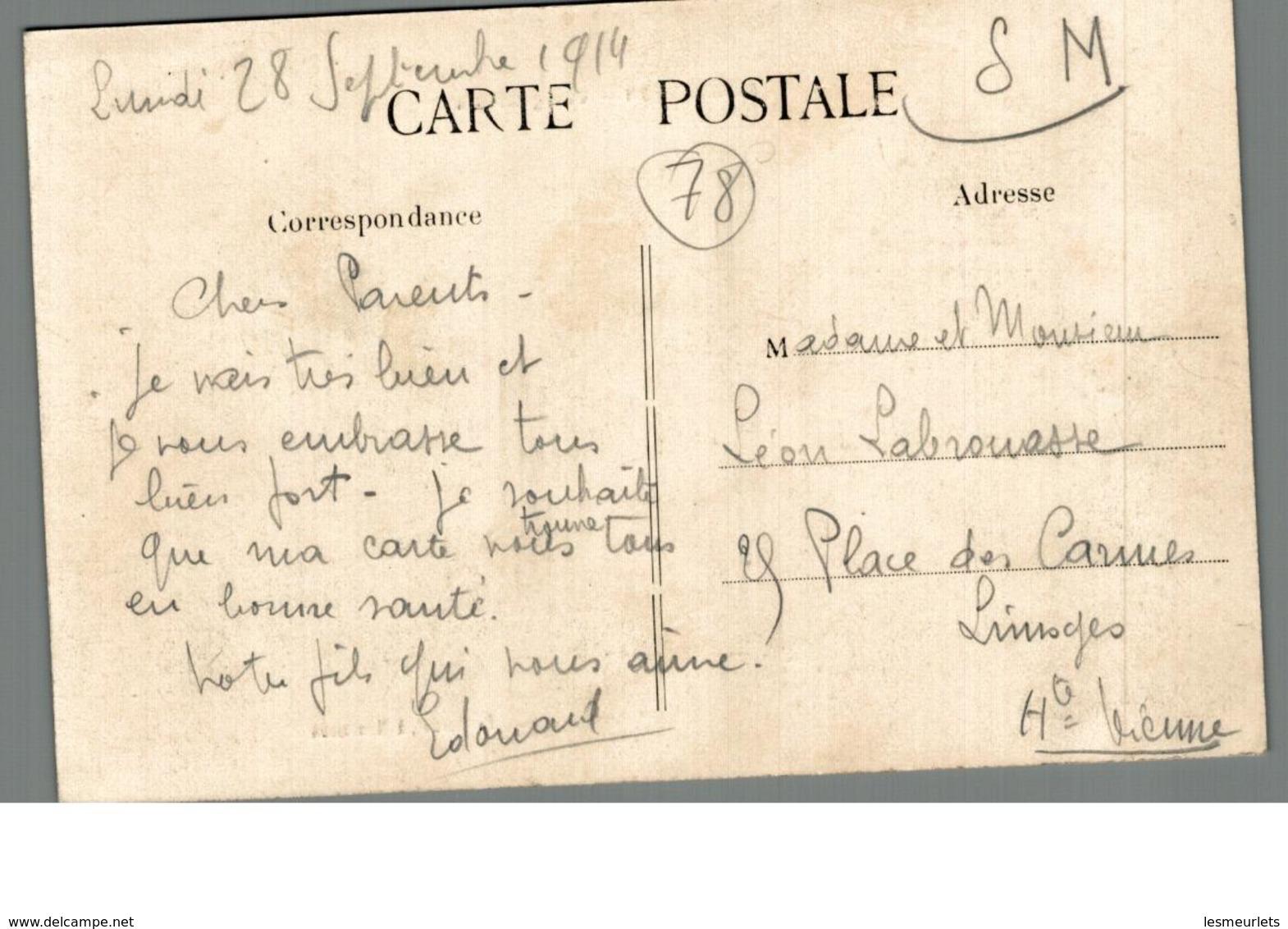 Cpa 78 Montesson Vue Générale Déstockage à Saisir - Montesson