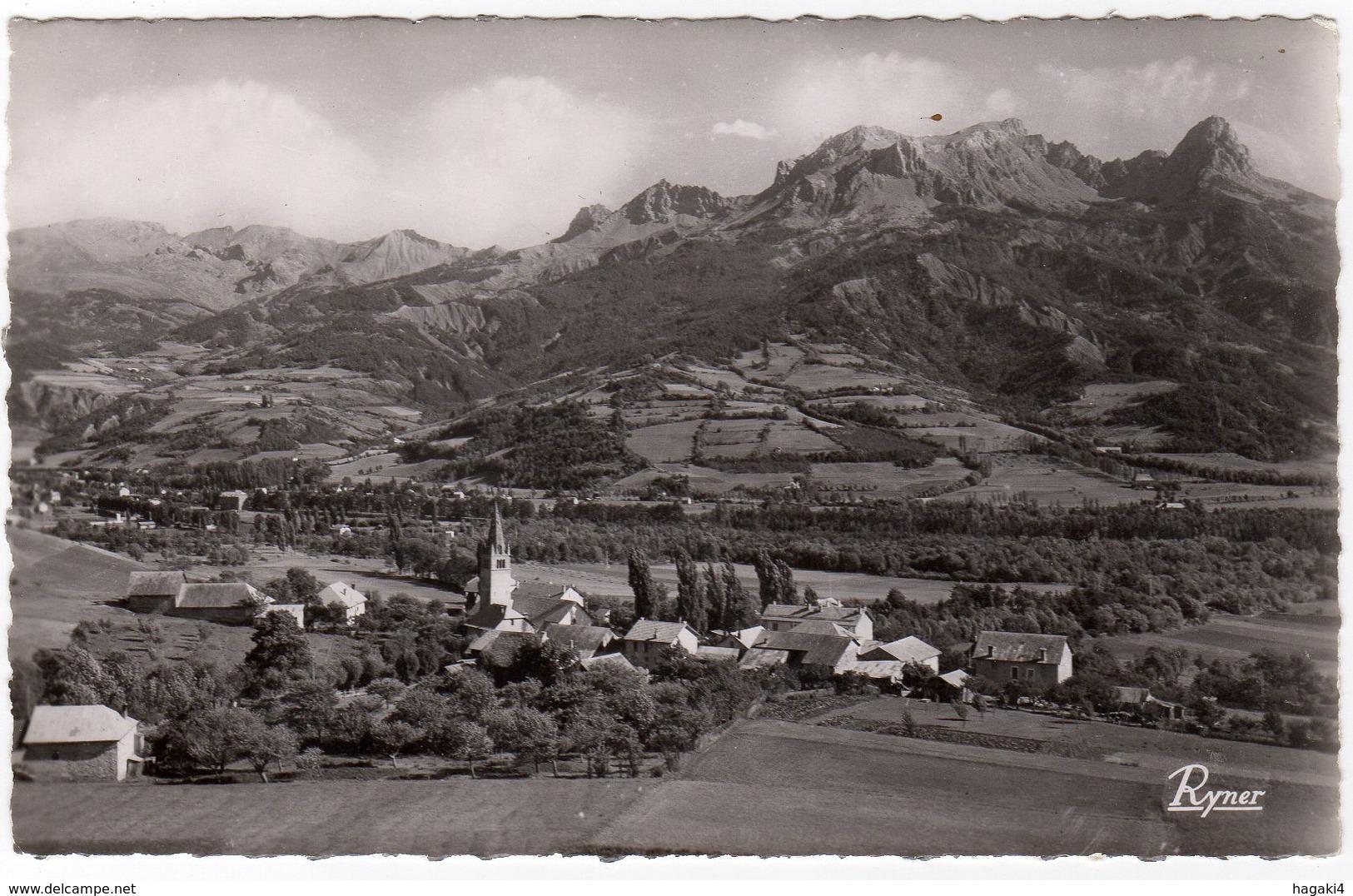 CPSM 04 : 2540 - Environs De BARCELONNETTE - Le Village De SAINT-PONS - Ed. Ryner à Marseille - Francia
