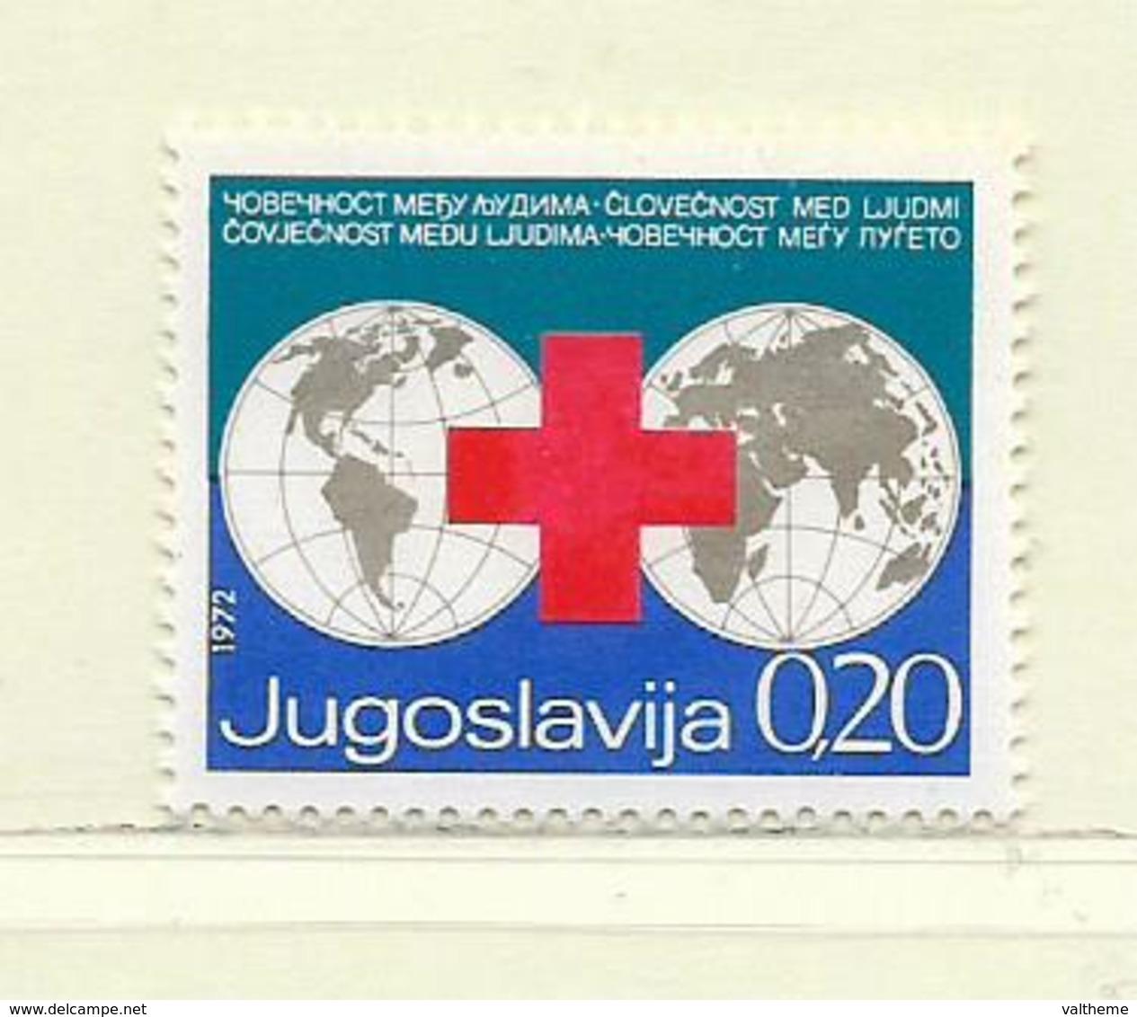 YOUGOSLAVIE  ( EU- 203 )  1972  N° YVERT ET TELLIER  N° 61   N** - Beneficiencia (Sellos De)