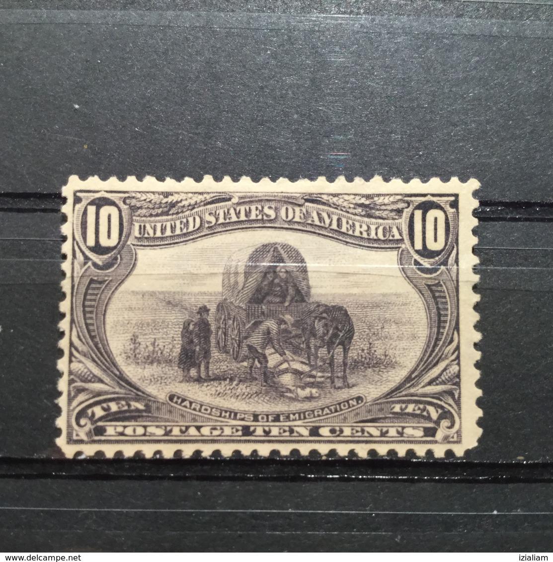1898 .Expo. D'Omaha.  No .129 A 137 Sur Yvert Et Tellier .Neufs  X. Traces Ch.   Signes - 1847-99 Emissions Générales