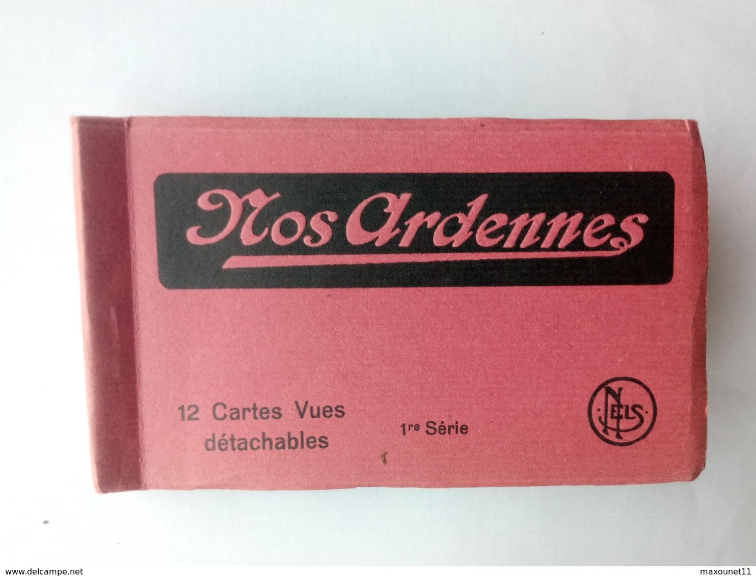 Carnet Complet De 12 Cartes Des Ardennes Belges 1ère Série : Herbeumont , Mousaive , Falaen , Orchimont , Etc .... - Cartes Postales