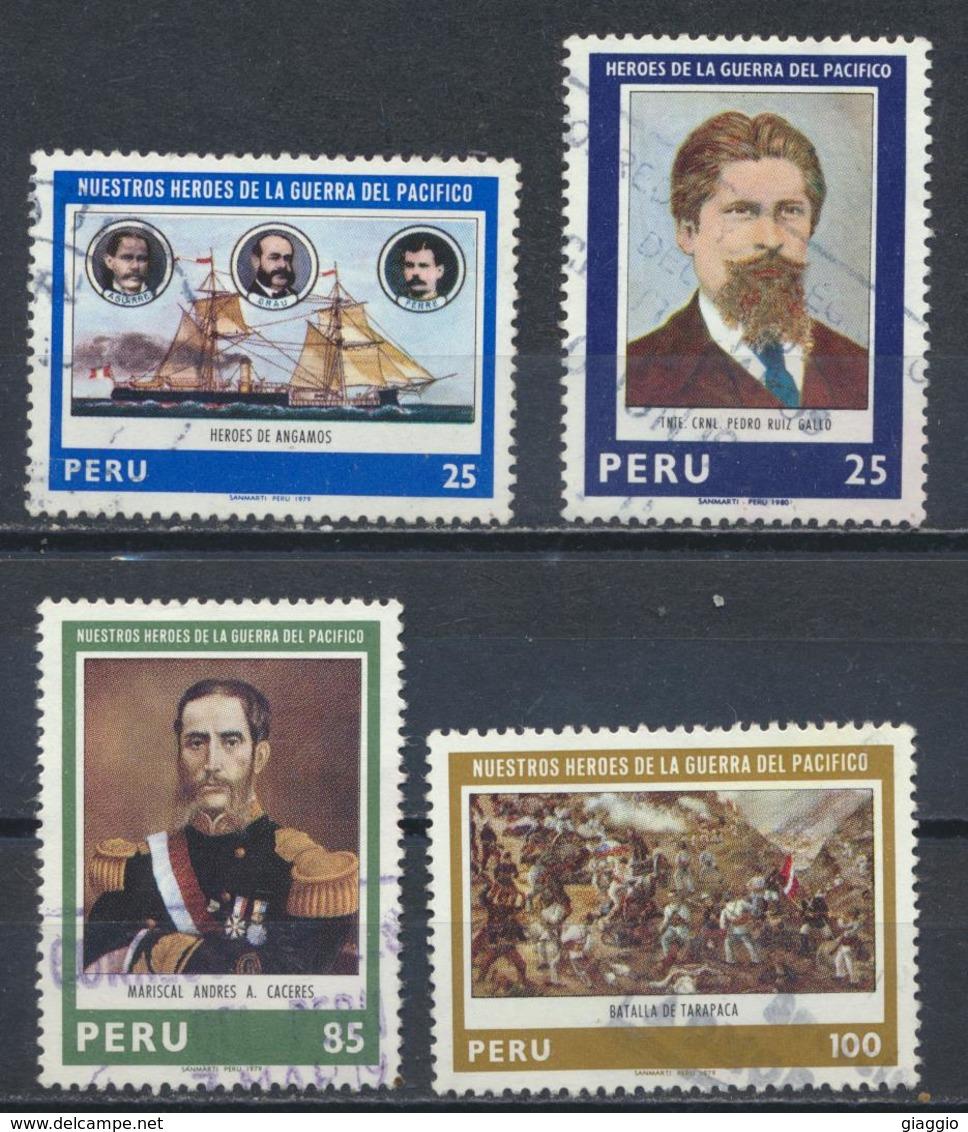 °°° PERU - Y&T N°674/77 - 1979 °°° - Peru
