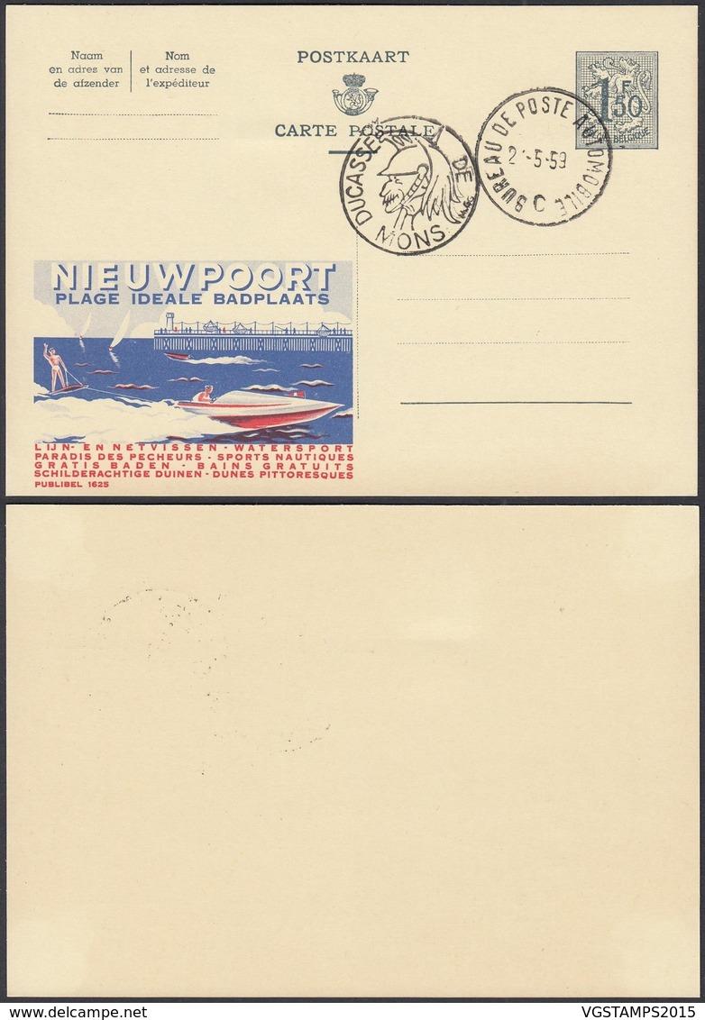 Publibel 1625 - 1F50 - Thématique Bateau,phare,mer,ski Nautique (DD) DC0548 - Stamped Stationery