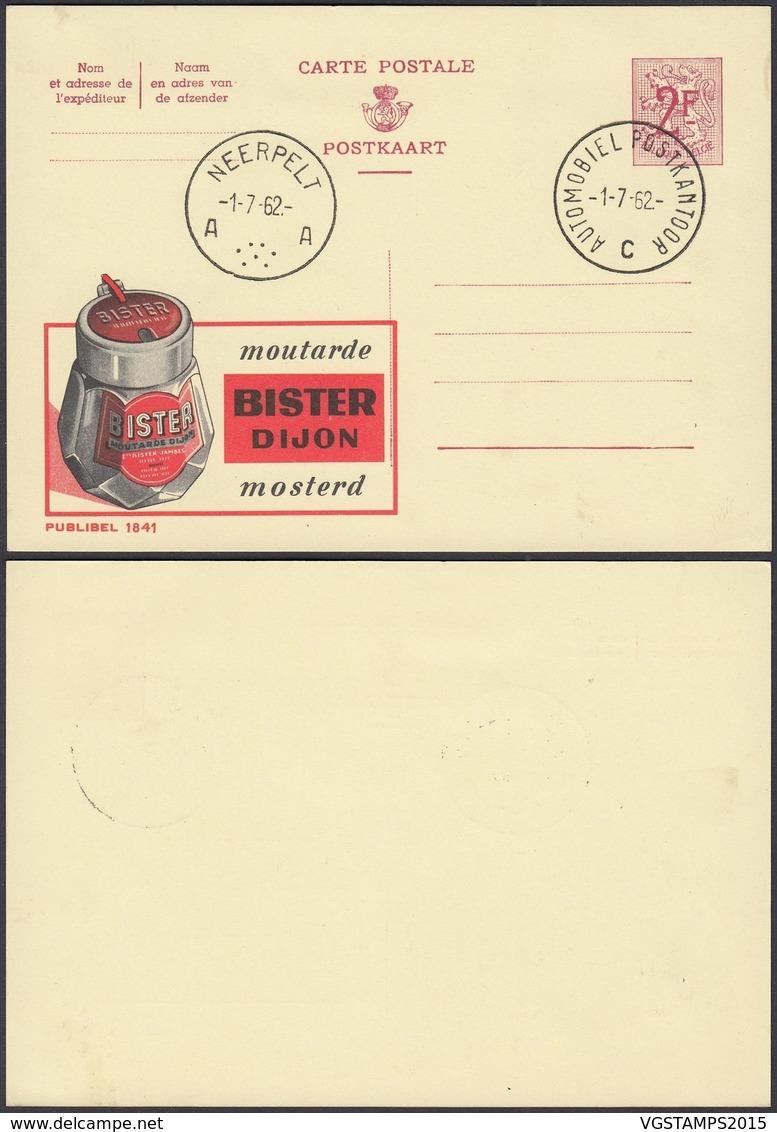 Publibel 1841 - 2F - Thématique Moutarde (DD) DC0552 - Stamped Stationery