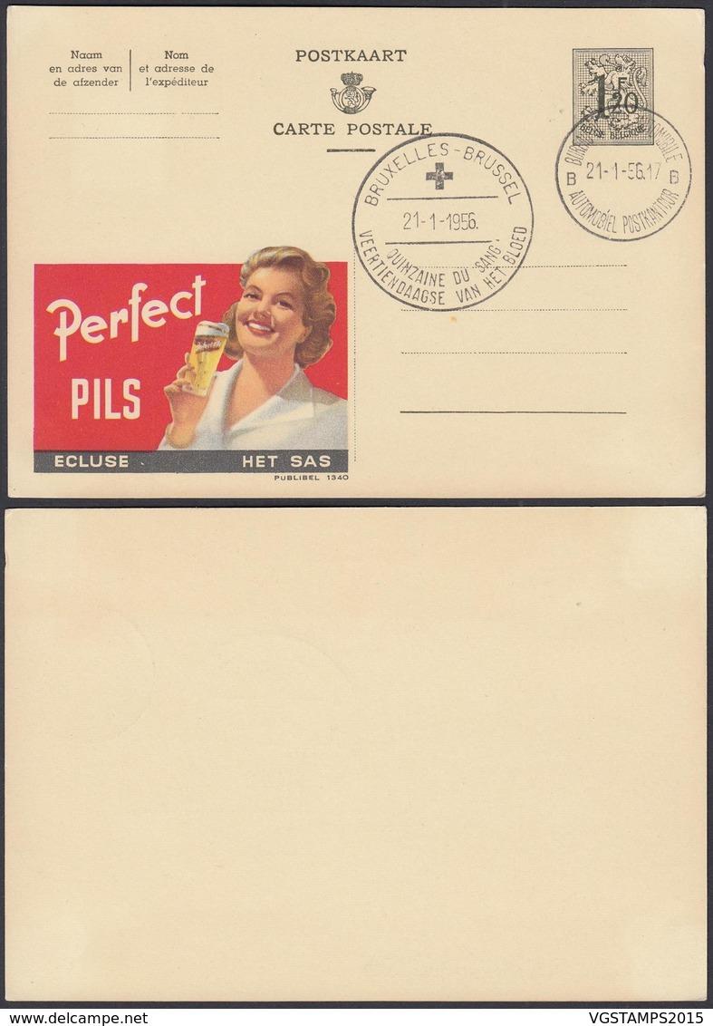 Publibel 1340 - 1F20 - Thématique Femme, Bière, Don De Sang (DD) DC0560 - Publibels