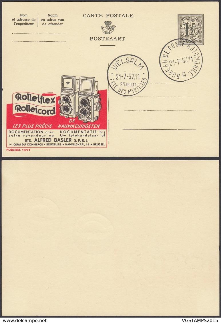 Publibel 1491 - 1F20 - Thématique Rolleiflex, Appareil Photo (DD) DC0571 - Publibels