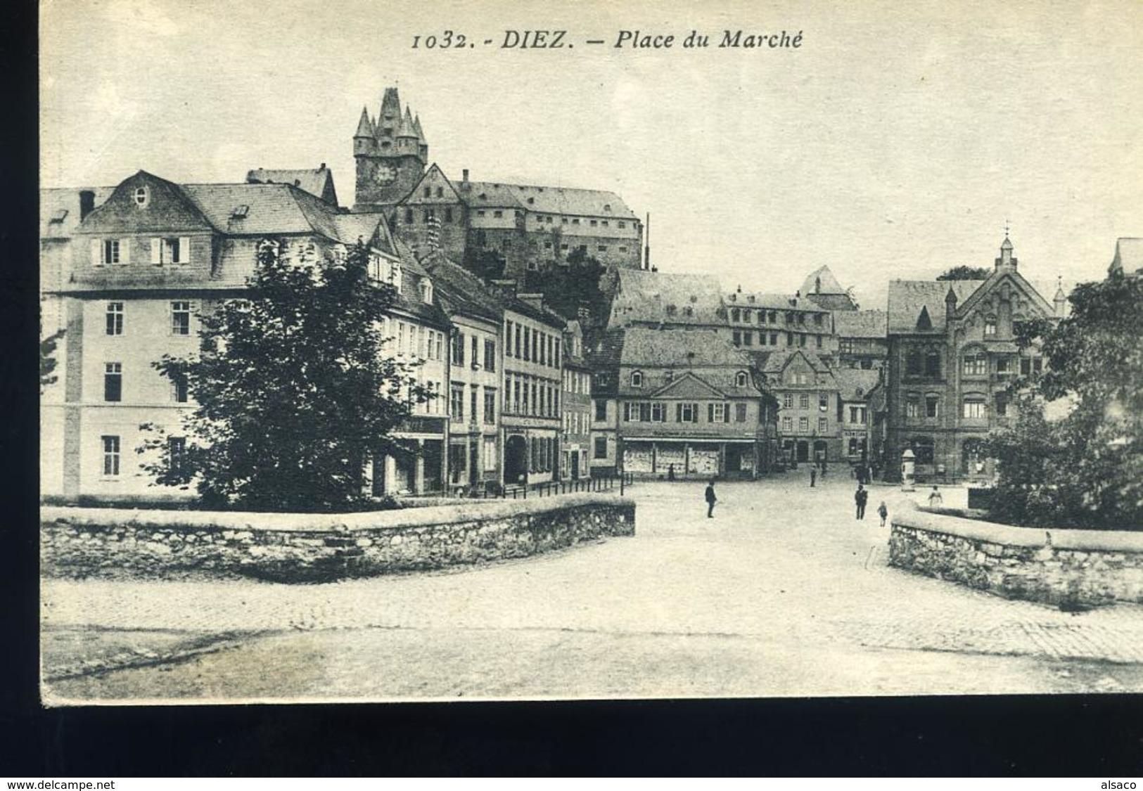 DIEZ 1926 - Markt Platz - Diez