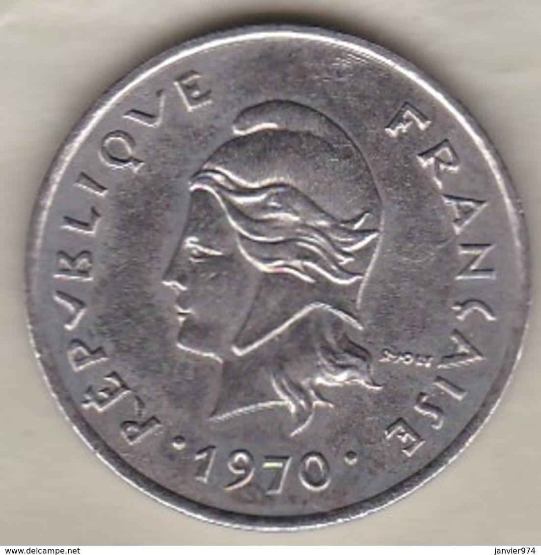 Nouvelles-Hébrides 10 Francs 1970 En Nickel - Vanuatu
