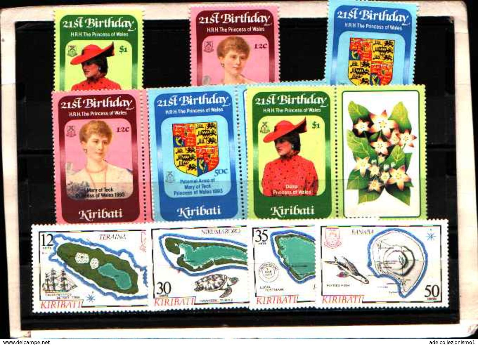 73330) KIRIBATI-LOTTO FRANCOBOLLI -MNH**- - St.Vincent E Grenadine