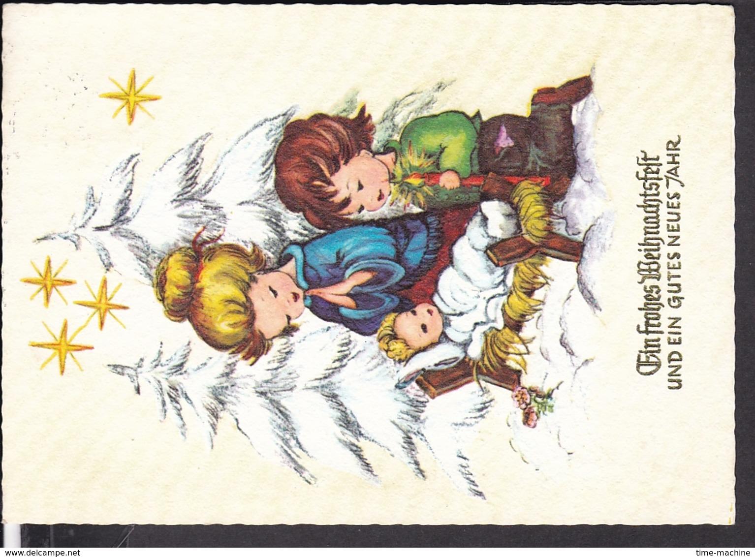 Postkarte Weihnachten , Neujahr  1967 - Weihnachten
