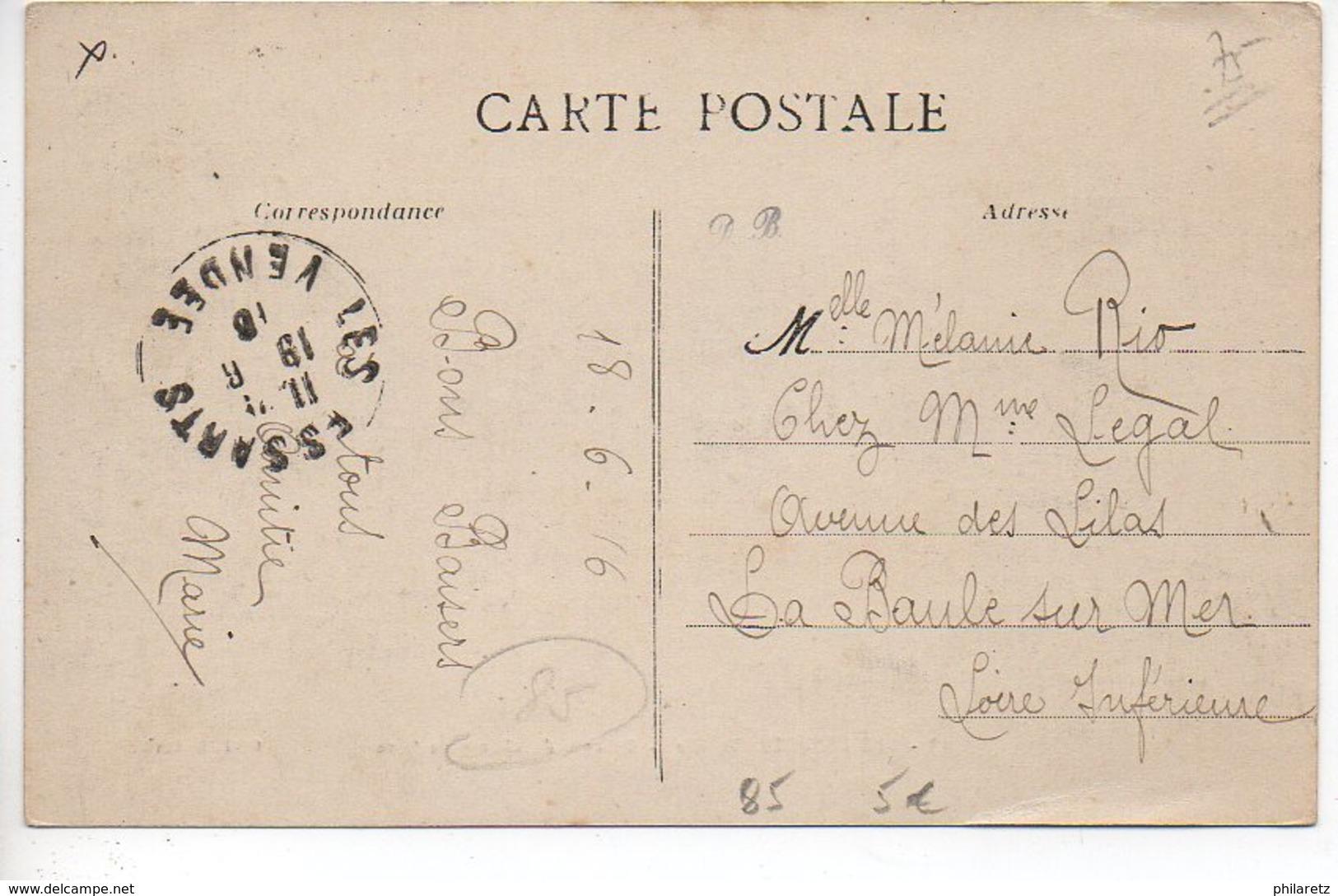 Les Essarts : Un Coin Du Champ De Foire - Les Essarts