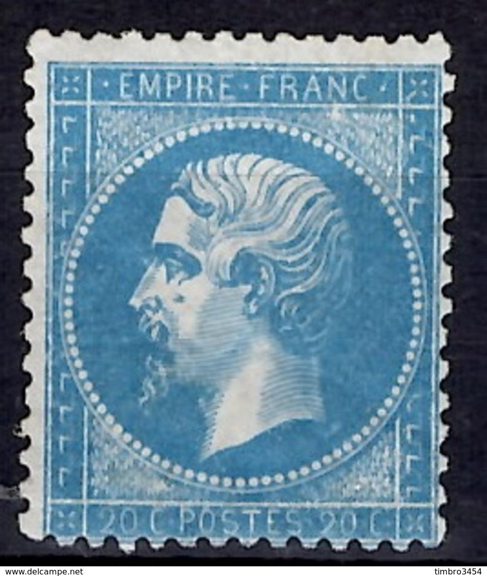 France YT N° 22 Neuf *. Gomme D'origine Signé Calves. B/TB. A Saisir! - 1862 Napoléon III