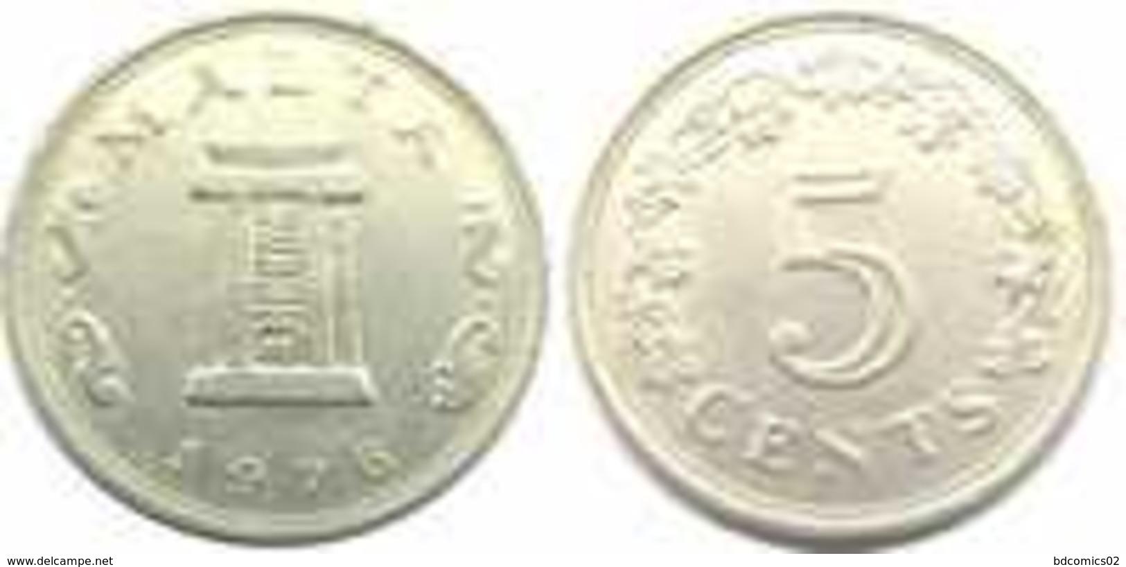 Malte 5 Cents 1976   Malte - Malte