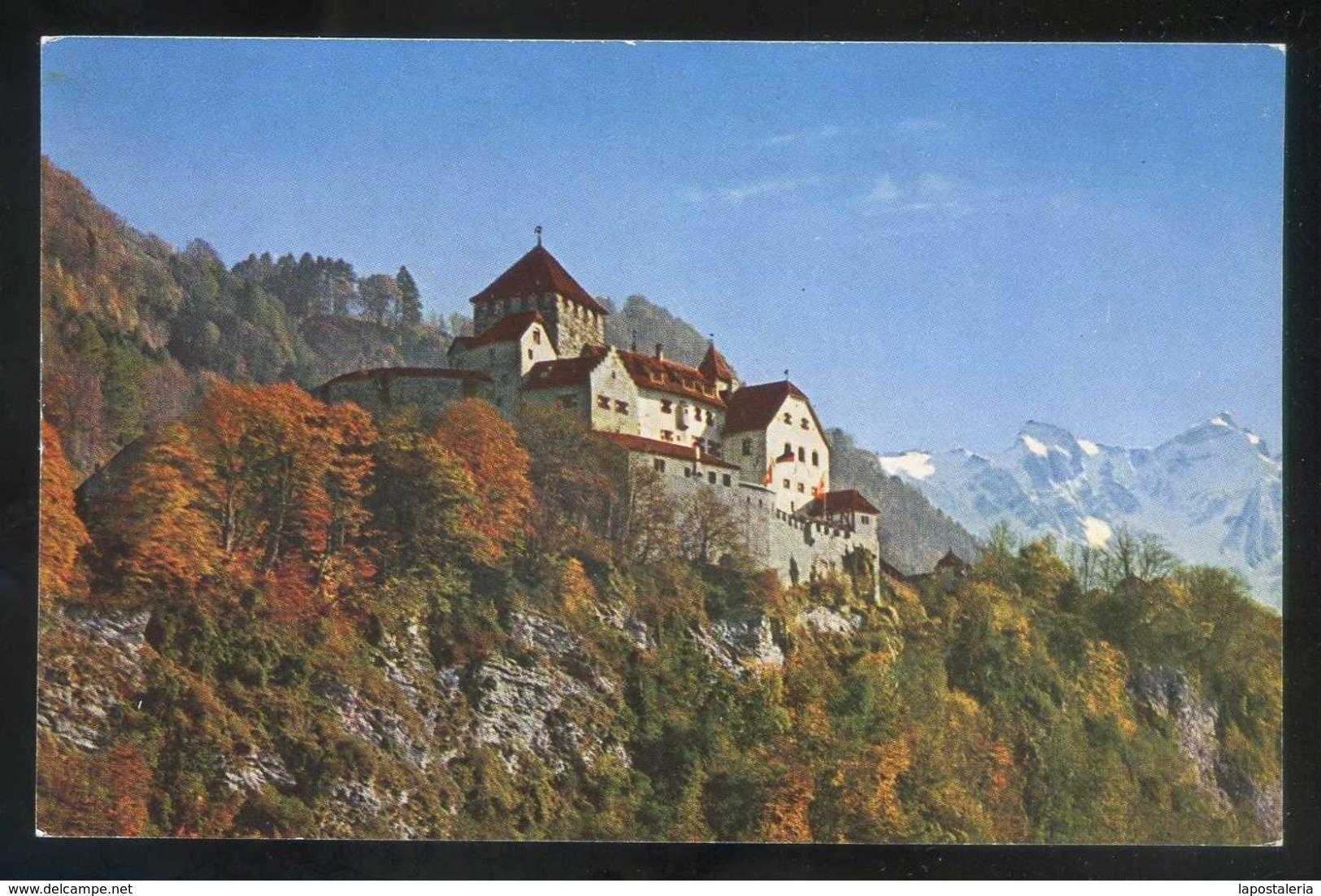 *Schloss Vaduz* Photo: Peter Ospelt. Meds: 90x139 Mms. Nueva. - Liechtenstein