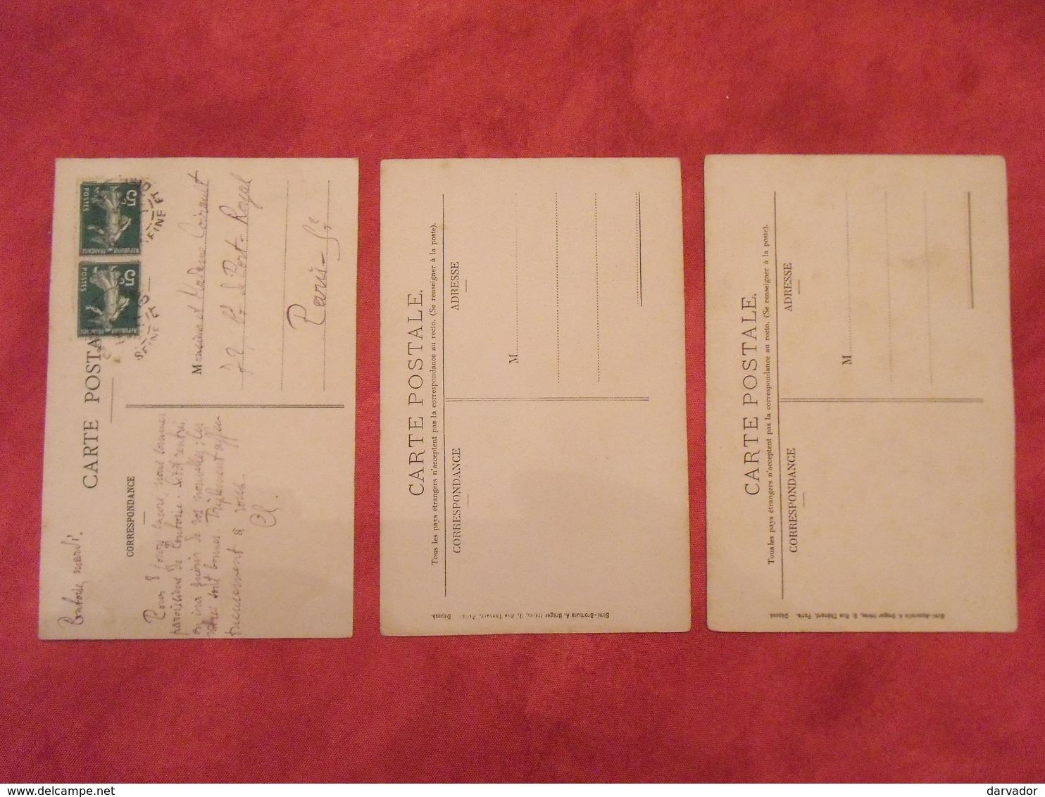 Carte Postale / Val D'oise / Département 95 / Lot De 3 Cartes - France