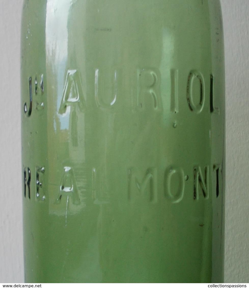 - RARE - Ancienne Bouteille. Joseph Auriol - Realmont - - Autres Bouteilles
