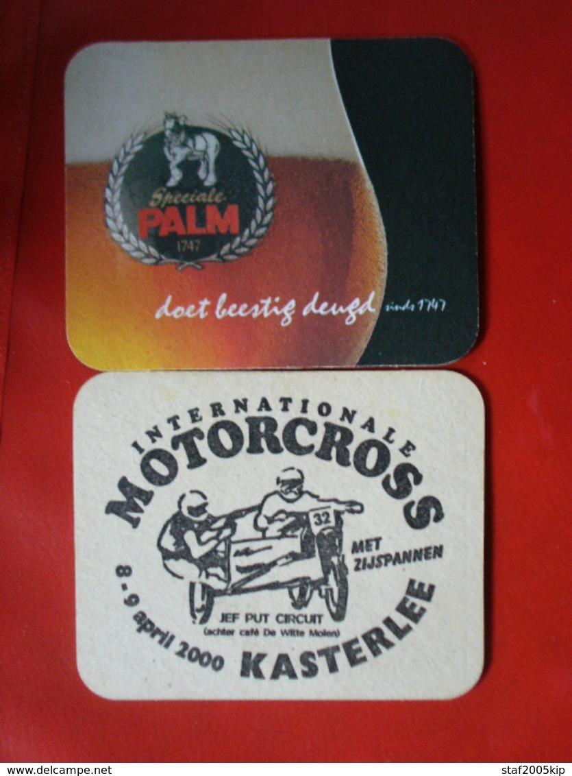 Bierviltjes - Palm - Intern. MOTORCROSS Met Zijspan - Kasterlee - 2000 - Jef Put Circuit - Sous-bocks