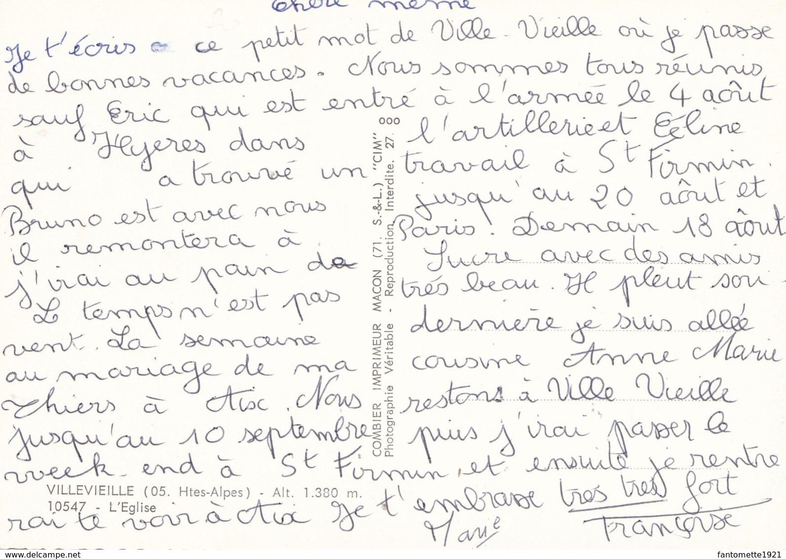 VILLEVIEILLE L'EGLISE  (dil418) - Autres Communes