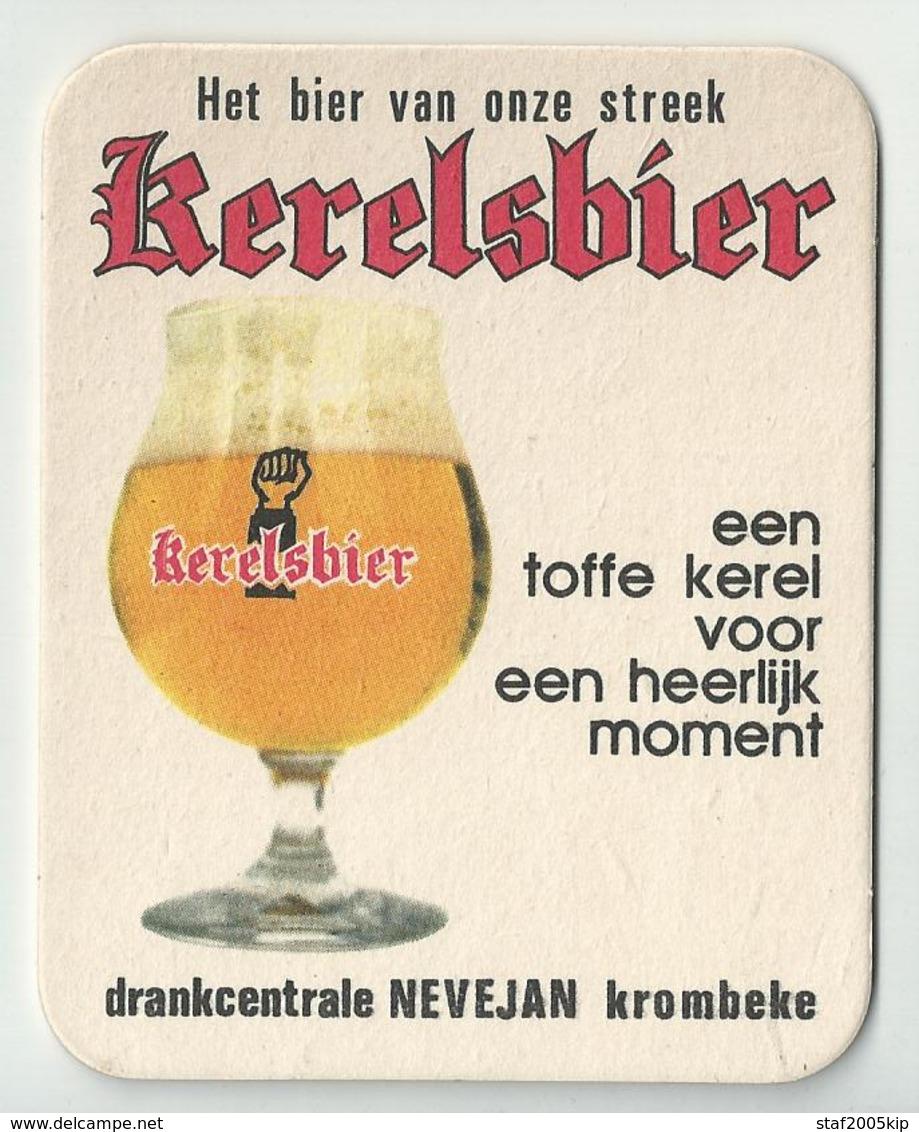 Bierviltje - Kerelsbier -- NEVEJAN Krombeke - Sous-bocks