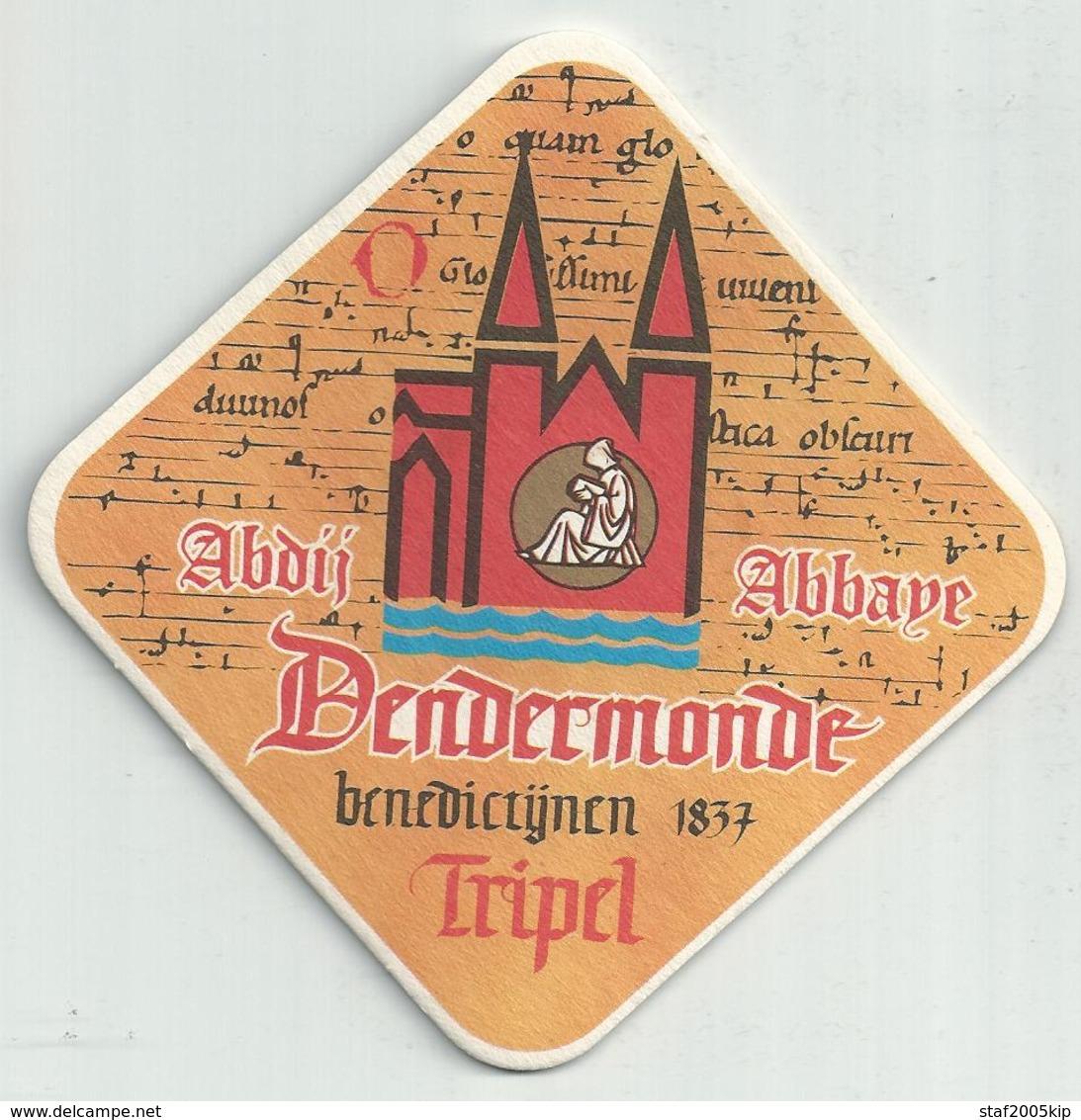 Bierviltje - Abdij Dendermonde - Sous-bocks