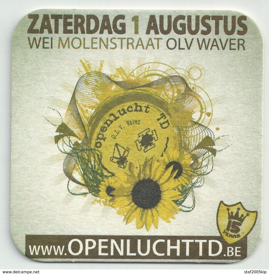 Bierviltje - Openlucht Td - O.L.V. Waver - Sous-bocks