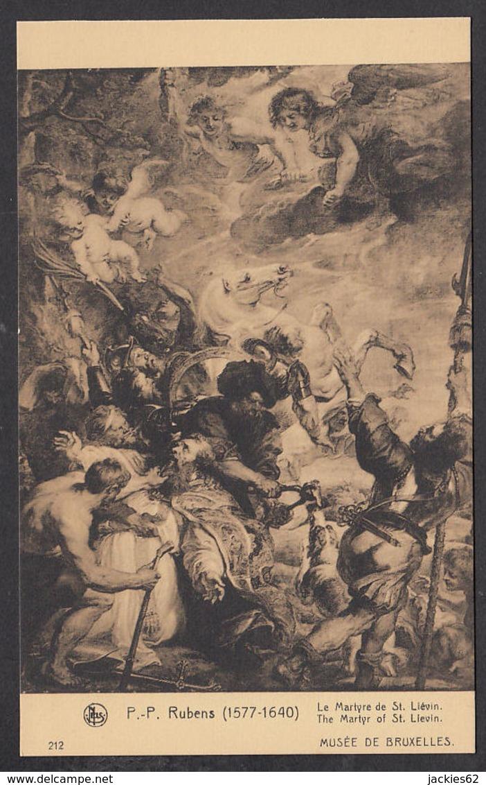 PR333/ RUBENS, *Le Martyre De Saint Liévin*, Bruxelles, Musées Des Beaux-Arts - Peintures & Tableaux