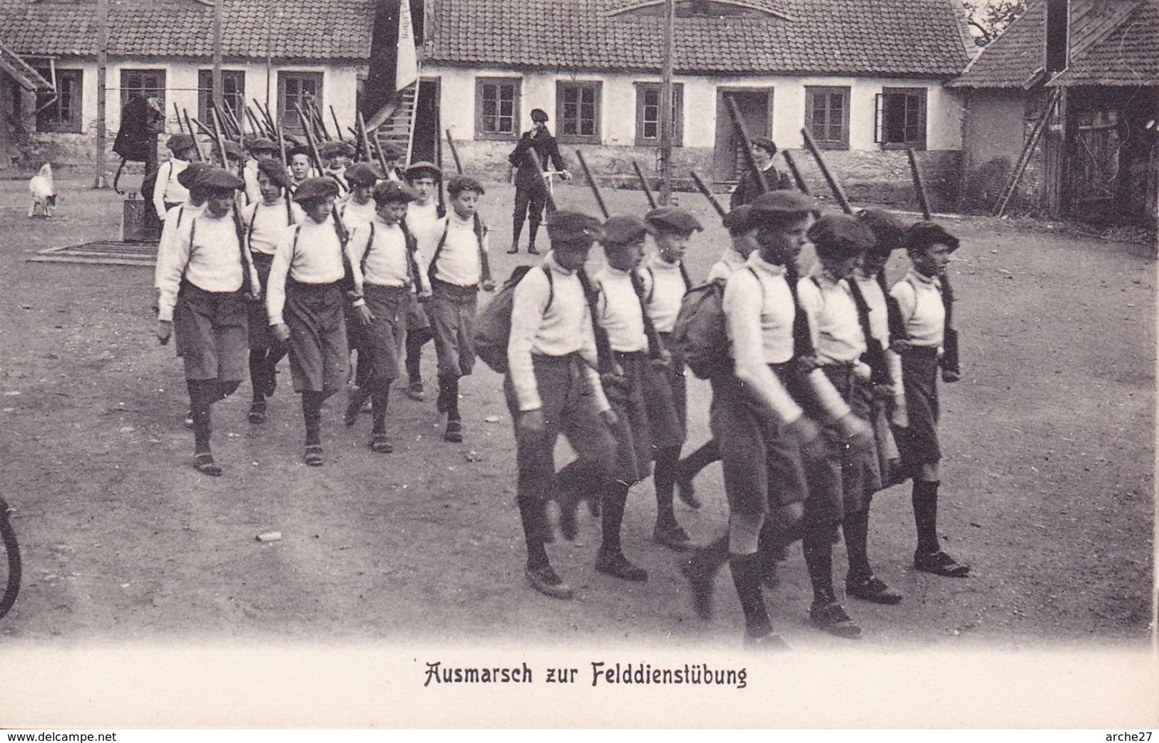 CPA - ILSENBURG - Ausmarsch Zur Felddienstübung - Exercice Marche - Allemagne - Ilsenburg