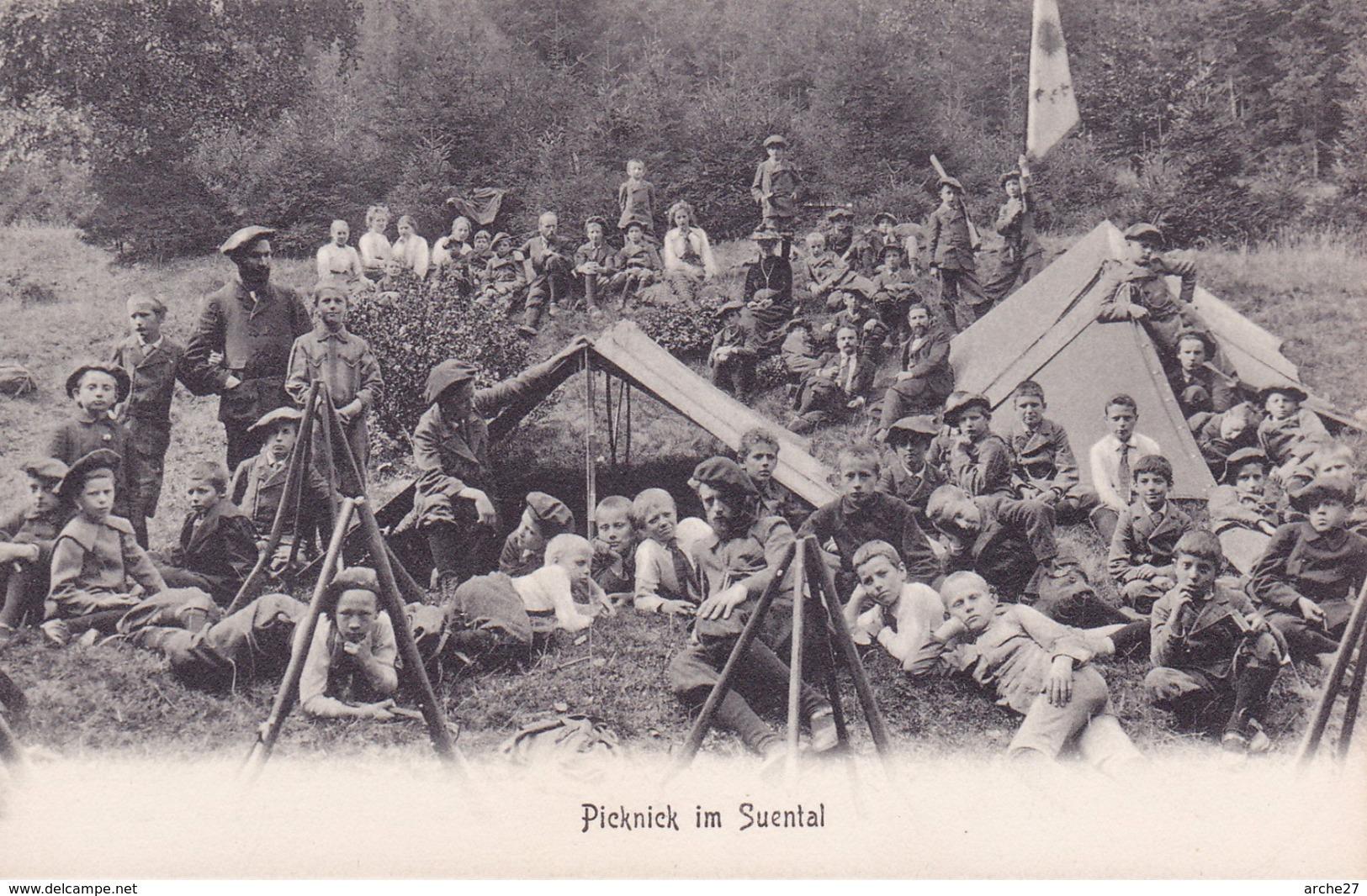 CPA - ILSENBURG - Picnick Im Suental - Pique Nique Dans Le Sud - Allemagne - Ilsenburg