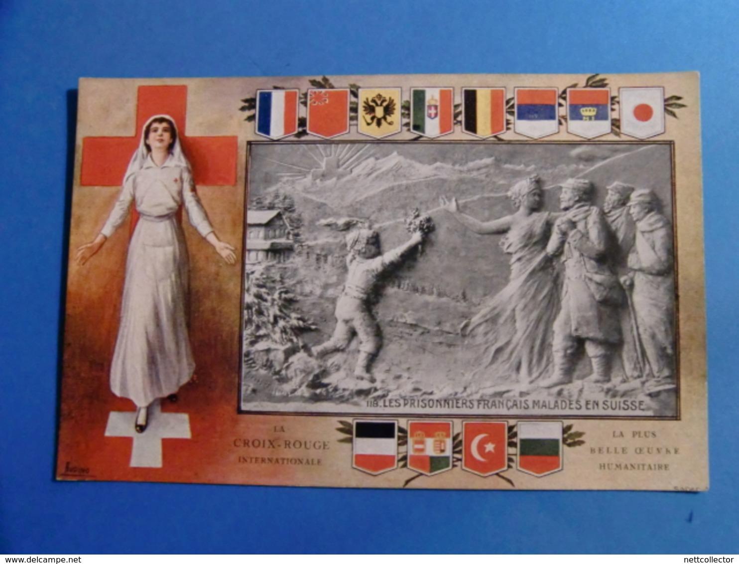 SUISSE 138 CPA VERS 1900 TOUTES REGIONS Dont COLLECTION CROIX ROUGE à VOIR !!!! - Switzerland