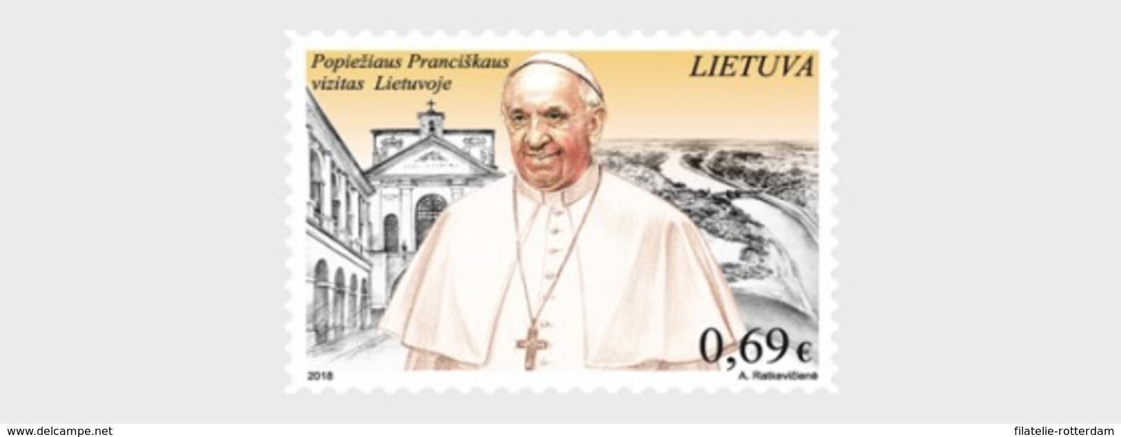 Litouwen / Lithuania - Postfris / MNH - Bezoek Van De Paus 2018 - Lithuania