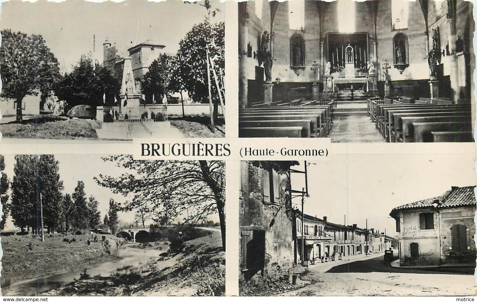 BRUGUIERES - Carte Multi-vues. - Other Municipalities