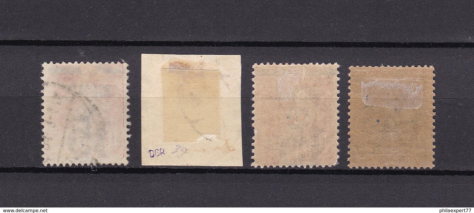 Memelgebiet - 1921 - Michel Nr. 34/35 - Gest.Briefst. - Ungebr. - Geprüft - Klaipeda