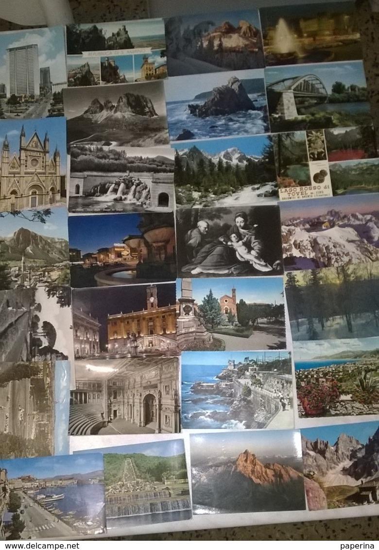 50 CARTOLINE PAESAGGISTICHE E NO ITALIA    (G) - Cartoline