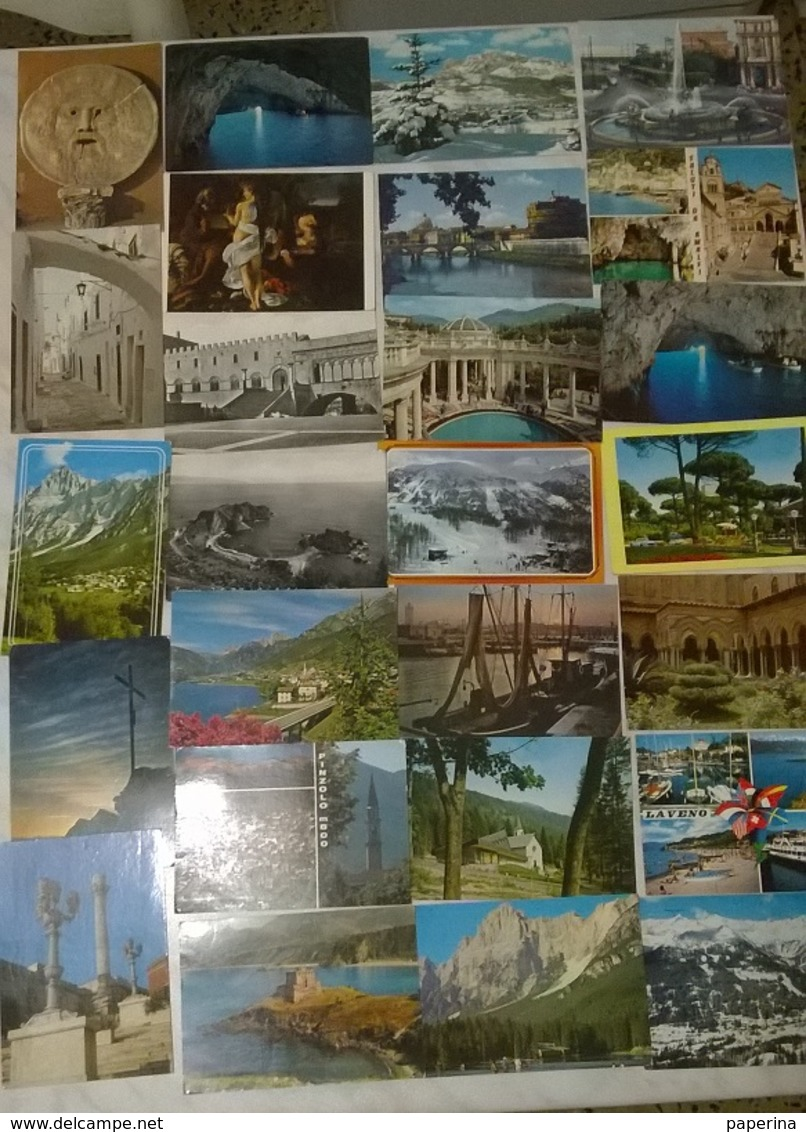 50 CARTOLINE PAESAGGISTICHE E NO ITALIA    (M) - Cartoline
