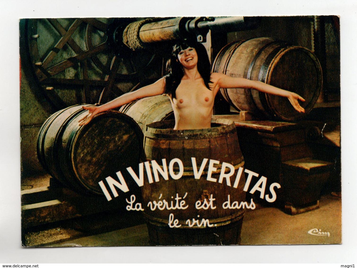 In Vino Veritas - Silhouette - Scissor-type