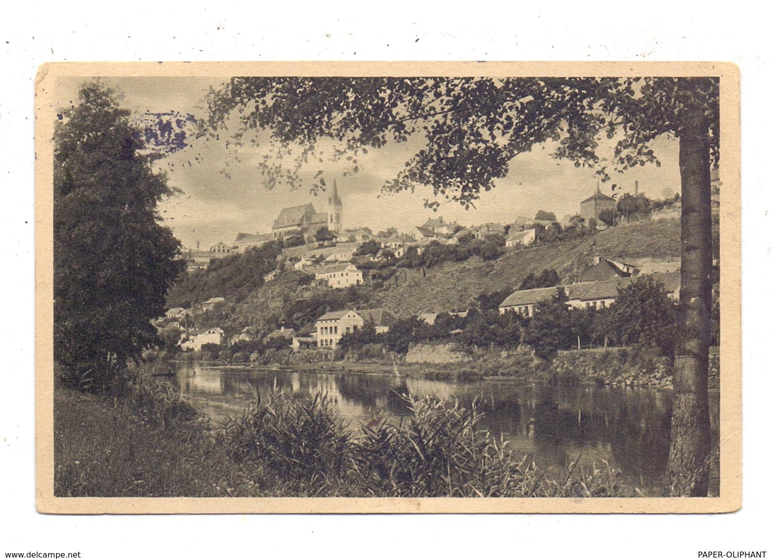 BÖHMEN & MÄHREN - ZNAIM / ZNOJMO, Ansicht Mit Donau, 1938 - Böhmen Und Mähren