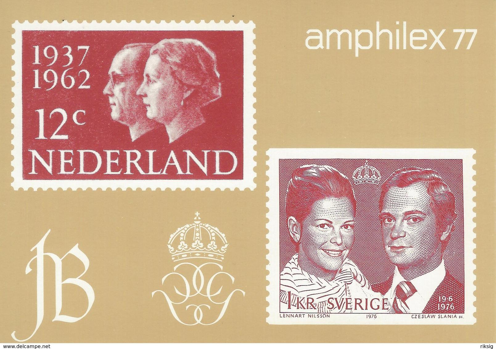 Amphilex 77. Stamp Exhibition. B-3310 - Stamps (pictures)