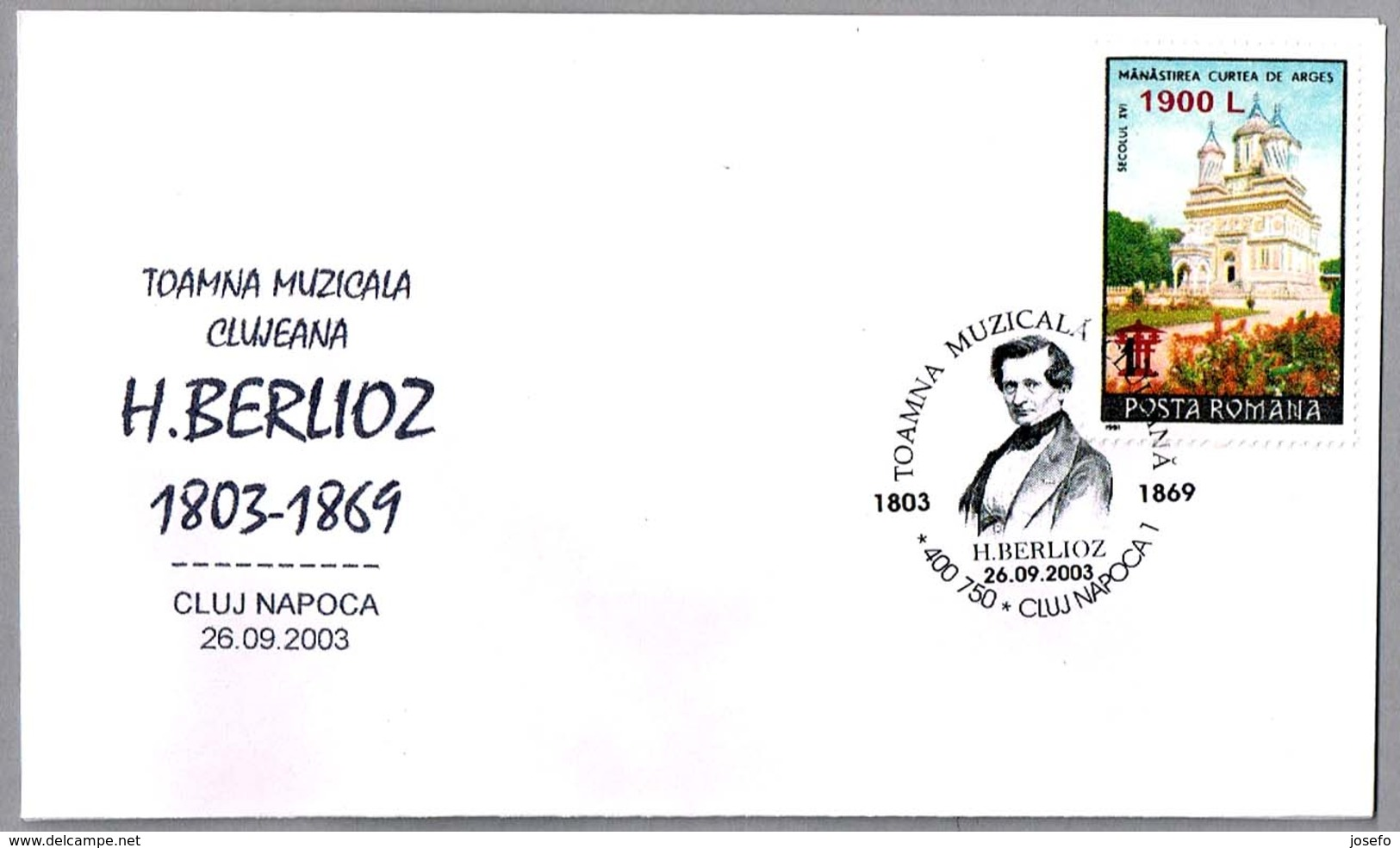 Otoño Musical. H.BERLIOZ (1803-1869). Cluj Napoca 2003 - Música