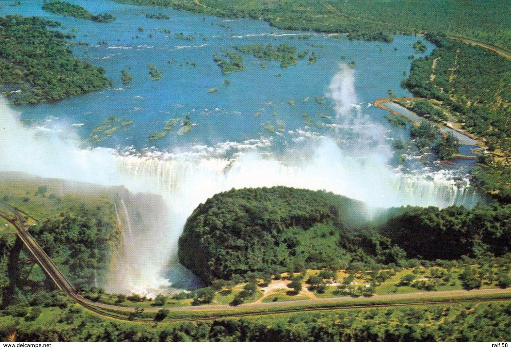 1 AK Simbabwe Zimbabwe Früher Rhodesien * Victoria Falls - Seit 1989 Weltnaturerbe Der UNESCO * - Zimbabwe