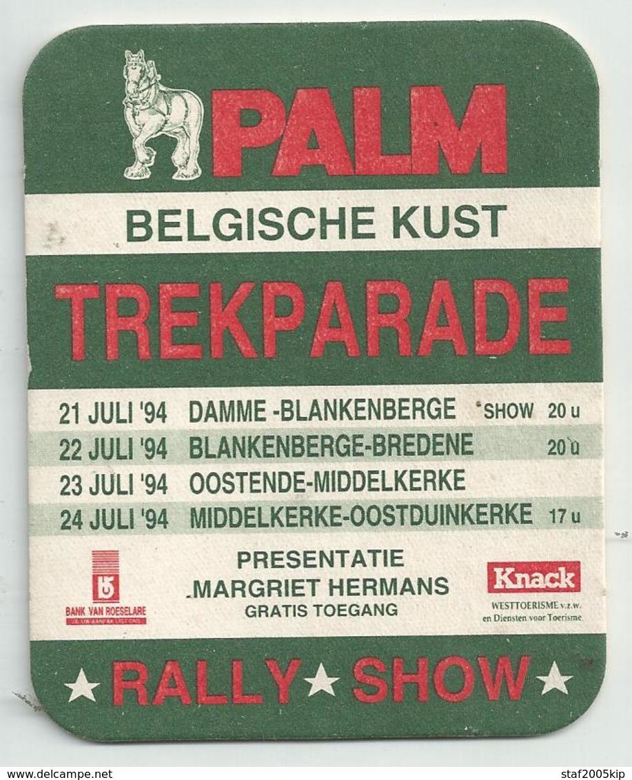 Bierviltjes - Palm - Trekparade Belgische Kust - Rally Show 1994 - Magriet Hermans - Sous-bocks