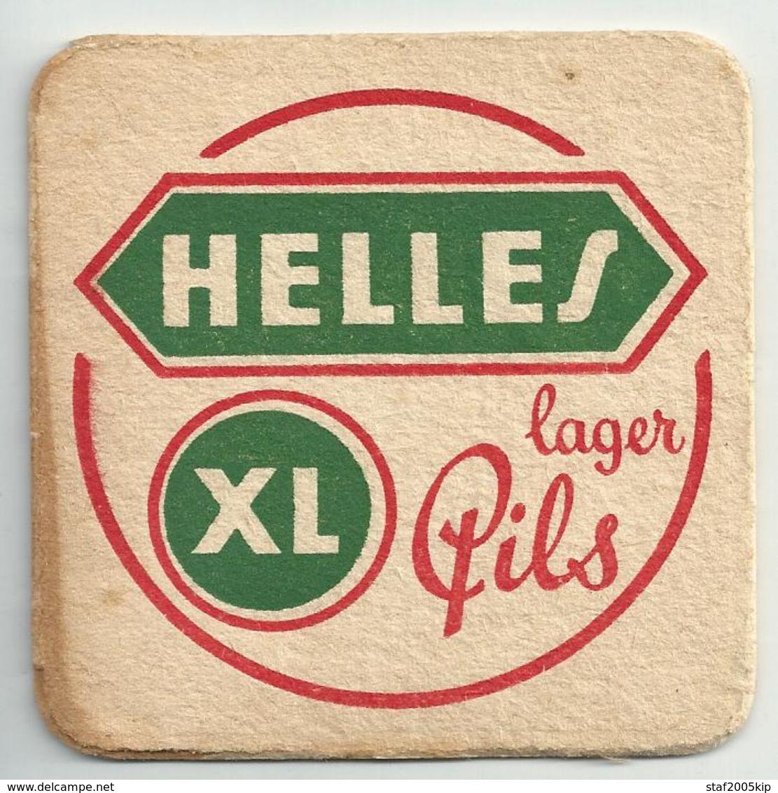 Bierviltjes - HELLES XL - Lager Pils - Sous-bocks
