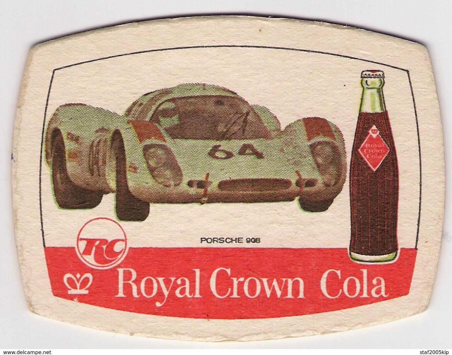 Bierviltjes - Royal Crown Cola - Porsche 908 - Sous-bocks