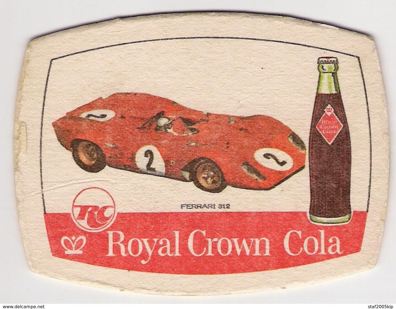 Bierviltjes - Royal Crown Cola - FERRARI 312 - Sous-bocks