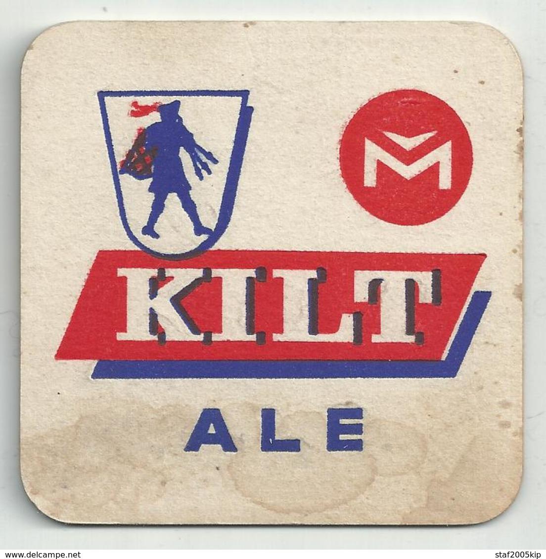Bierviltje - KILT ALE - Sous-bocks