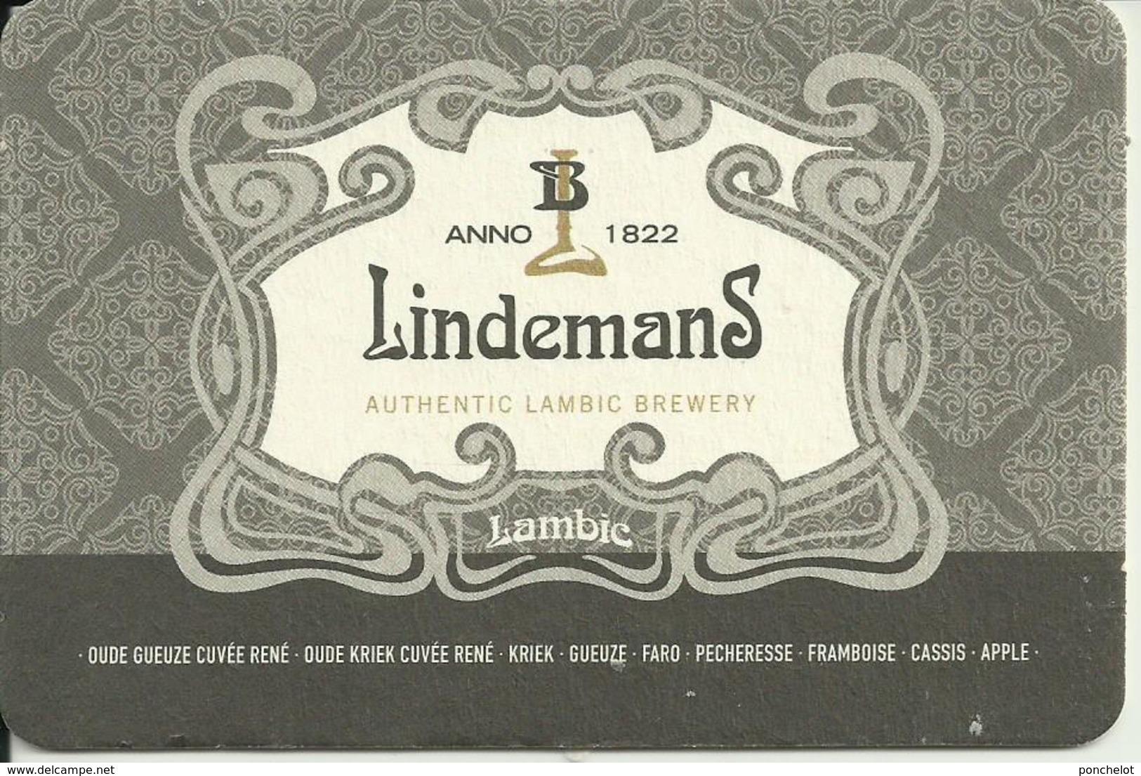 SB LINDEMANS LAMBIC GRIS - Sous-bocks