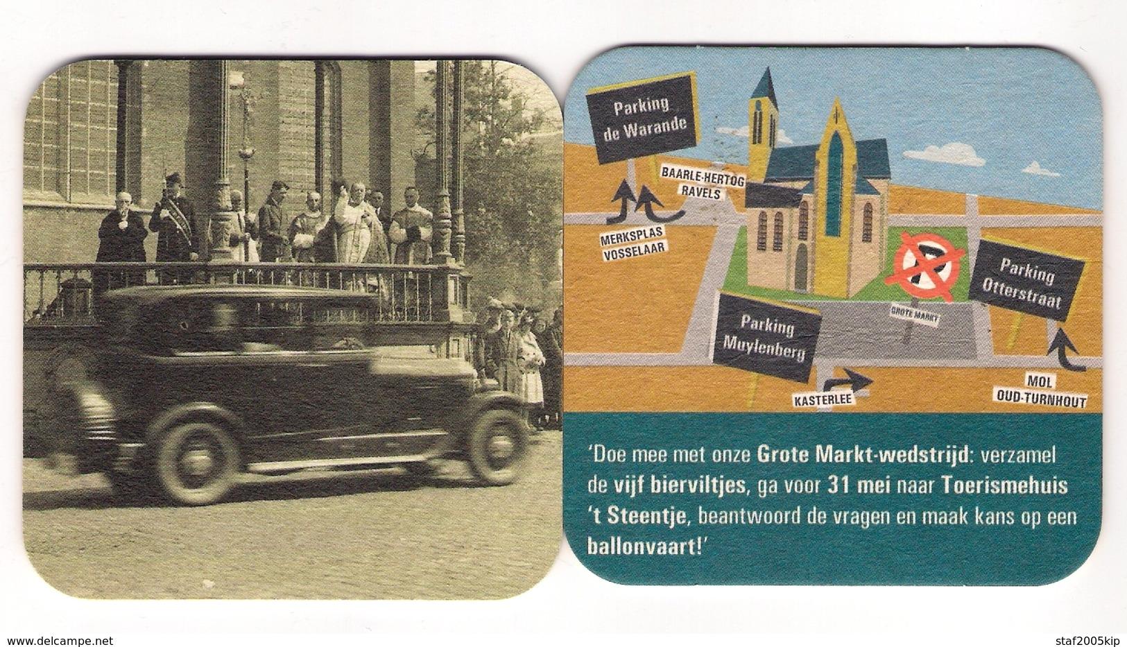 Bierviltje - Grote Markt Turnhout - Sous-bocks