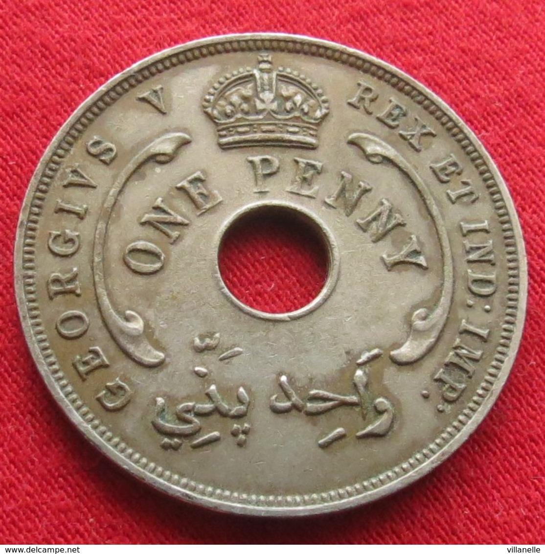 British West Africa 1 Penny 1935 #0  Brits Afrika Afrique Britannique Britanica  #0 W - Monnaies